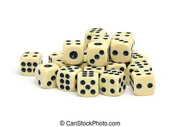 pile of dices