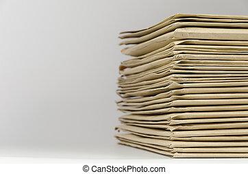 Pile of envelopes
