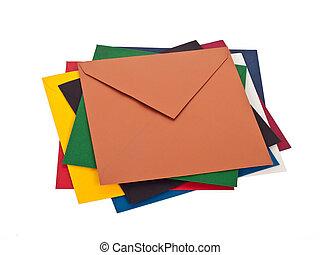 Pile of envelops