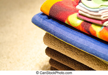 Pile of Folded Towels