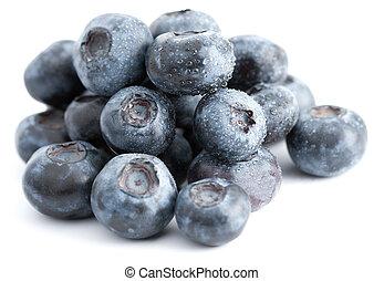 Pile Of Fresh Blueberries