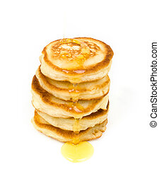 pile of fritters