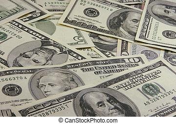 Pile of Money Background