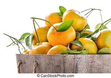 pile of orange fresh from the garden