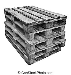 Pile of pallets