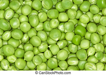Pile of peas - Abstract background: green peas