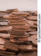 Pile of pennies
