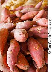 Pile of Sweet Potatoes