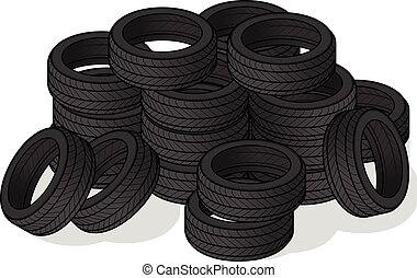 Pile of Tire