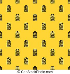 Pile of tires pattern vector