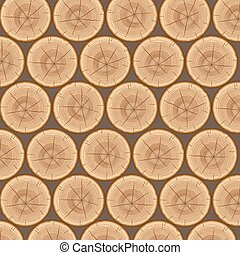 Pile of wood logs background