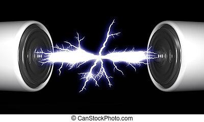 piles, arc, électrique