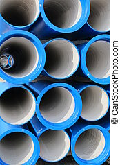 concrete pipes for transporting water and sewerage
