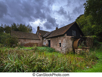 Piles Watermill - This small jointed cruck building dates ...