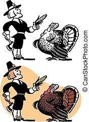 Pilgrim Luring Turkey