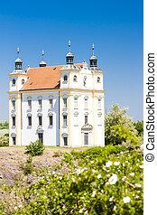 pilgrimage chapel of Saint Florian, Moravsky Krumlov, Czech ...