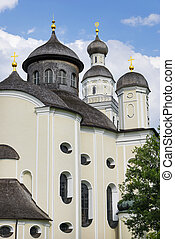 Picture of pilgrimage church Maria Birnbaum in Germany, Bavaria