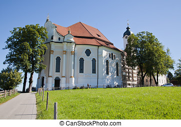 Pilgrimage Church of Wies is one of the word heritage sites ...