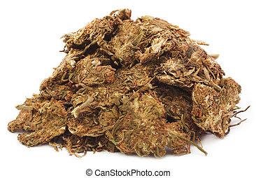 pilha, algum, marijuana