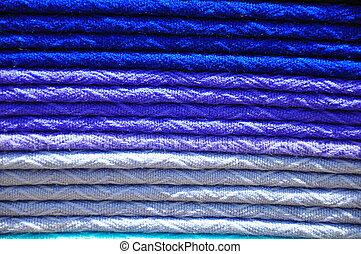 pilha, de, tradicional, tecido, alpaca, cobertores