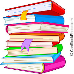 pilha livro