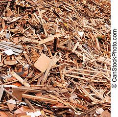 pilha madeira