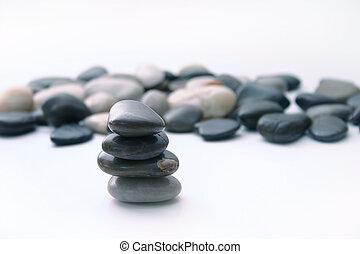 pilha, rocha