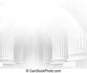 pilier, gros plan