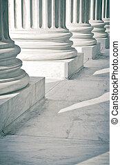 piliers, pierre