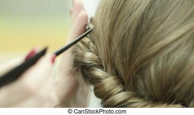 Piling of hair