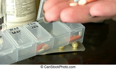 Pill box - Holding a Pill Capsule