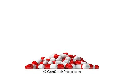 pill capsules stack