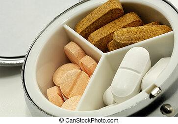 Pill Case - Photo of a Pill Case