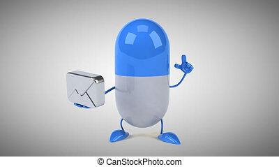 Pill - Computer animation