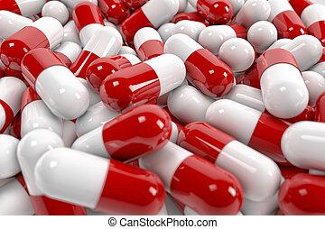 pill, kapsyler