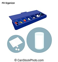 Pill Organizer for Each Day of The Week