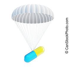 pill Parachute