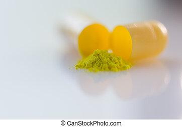 Pill - The powder inside the pill