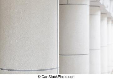 Pillar close up