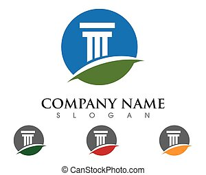 pillar logo template