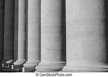 Pillars at the Vatican