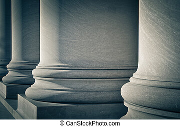 Pillars of Law, Education and Government