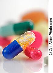 pillen, geassorteerd