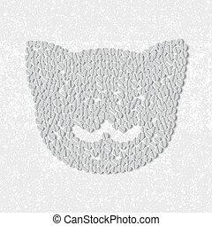 pillole, concept:, gatto