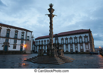 Pillory Twisted Column in Porto - Pillory (Pelourinho)...