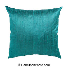 Pillow - Decorative pillow isolated on white. Clipping path