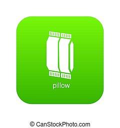 Pillow icon green