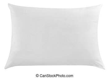 Pillow. Isolated - White pillow.