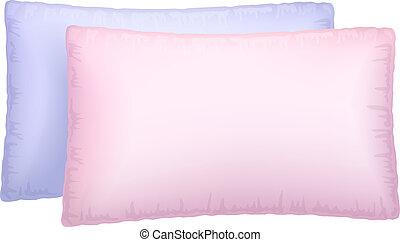 pillows., dos