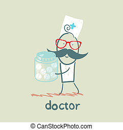 pills, врач